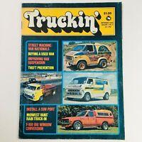 Truckin' Magazine October 1975 Vol 1 #5 Street Machine Van Nationals & Sun Port