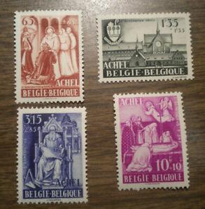 Belgium Semi-Postal: Scott's B 447, 448, 449, & B 450 - from 1948 -  OG NH