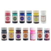 10 Botella De Resina Epoxi Mezcla Color UV de 10G para colorear tinte colorante Pigmento Crafts L130