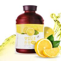 [A'PIEU] Fruit Vinegar Sheet Mask Lemon 5ea
