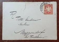 1900? Bayern 10pf on Cover to Tilli Einhorn, Muggendorf, Forchheim, Germany