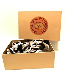 Dog Rope Chew Toys The Natural Pet Company Two Quality Ropes Treats Gift Boxed