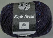 (11,90 €/100 g): 50 Gg LG Royal Tweed, Pt. 9717 Fb. 067 dunkel lila    #4084