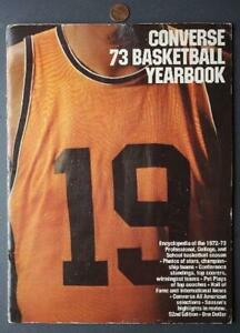 1972-73 ABA & NBA Converse Basketball Yearbook-College All-Americans too-SWEET!