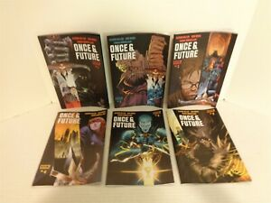2019 2020 Boom! Studios Once & Future Issue #1-6 6 Comic Book Lot