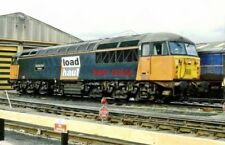 PHOTO  CLASS 56 LOCO 56045 BRITISH STEEL SHELTON. KNOTTINGLY DIESEL DEPOT.  6.9.