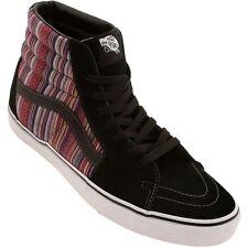 Vans SK8 Hi Guate Weave Black Multi Men's Classic Skate Shoes MENS Size 5.5 NIB