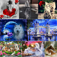 5D DIY Diamond Painting Embroidery Cross Stitch Kits Home Wall Art Decor Crafts