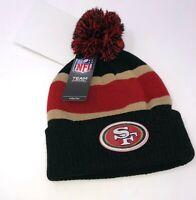 NFL San Francisco 49ers Winter Hat PomPom Youth Size