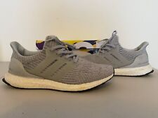 Adidas Ultra Boost UltraBOOST Clear Grey White 3.0 BB6059 Men's Size 10