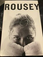 Ronda Rousey My Fight Your Fight Autographed Book (Brand new)