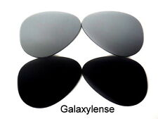 Galaxy Replacement Lenses For Oakley Crosshair New 2012 Black&Titanium Polarized