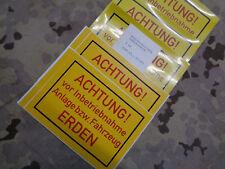 Bundeswehr LKW MAN Unimog Wolf Iltis VW  Werkzeug Schrauben Halter oliv Nato