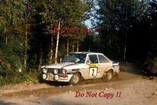 El Señor Vatanen nos Ford Escort RS1800 ganador 1000 lagos fotografía Rally 1981 5