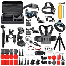 Accessories Set Kit with Carrying Case For Gopro Hero 6/5/4/Session/7 camera Kit