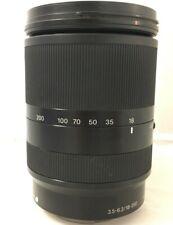 Sony SEL18200LE 18-200mm F/3.5-6.3 OSS Objetivo Sony - Negro