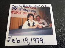 Scott Baio Polaroid Happy Days ABC Instant Photo 1970's 1979 Original Photograph