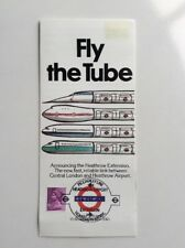 London Transport 'Fly the Tube' Heathrow Central - GB Stamp - 16 Dec 1977