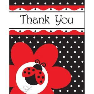 Ladybug Ladybird Polka Dot Birthday Party Tableware, Decorations & Balloons