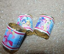 MLP MY LITTLE PONY PERSONALIZED HERSHEY's NUGGET WRAPPERS BIRTHDAY PARTY FAVORS