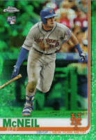 JEFF McNEIL RC 2019 Topps Chrome GREEN WAVE REFRACTOR Card# 152  #'d /99 ROOKIE