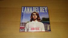 LANA DEL REY - Born to die rare Japan edition + obi (no lust for life paradise)