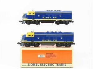 O Gauge 3-Rail Lionel 6-18117 ATSF Santa Fe F3 A/A Diesel Locomotive Set