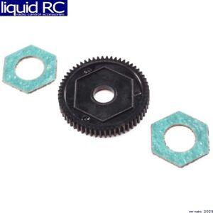 Losi 212016 LOS212016 Spur Gear w/ Slipper Pads 60T 0.5M: Mini-T 2.0