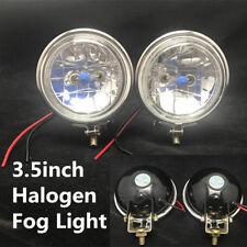 "2x 3.5"" Halogen Truck Car Headlight Parking Driving Lamp Fog Light 12V Universal"