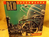 REO SPEEDWAGON / WHEELS ARE TURNIN /NEAR MINT CONDITION