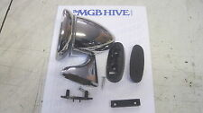MG   NEW TEX MGB/MIDGET LEFT HAND BULLET STYLE RACING MIRROR RACING MIRROR htop