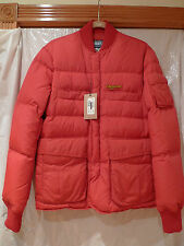 DSQUARED2 MEN'S RED DOWN JACKET 100%AUTHENTIC EURO SIZE 48 /S