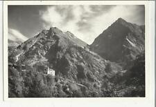 73818  alagna valsesia VECCHIA CARTOLINA SPEDITA 1951