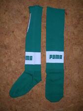 chaussettes de football PUMA - VERTES -bande blanche, Pointure = 30-34/ 709030