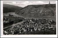 Bingen am Rhein AK 1957 gelaufen Bingen und Bingerbrück mit National Denkmal