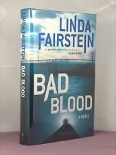 1st,signed by author,Bad Blood by Linda Fairstein (2007)Alexandra Cooper mystery