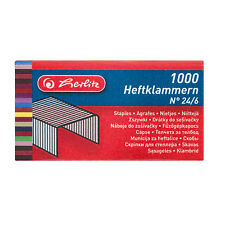 Heftklammer No.24/6 verzinkt 2x1000 Stück von Herlitz