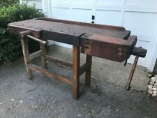 "ANTIQUE CARPENTER""S WORKBENCH"