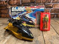 GI JOE Iron Grenadiers Darklon's Evader w/ Darklon Figure Hasbro 1988 Complete