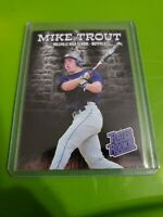 Mike Trout Millville High School Thunderbolts Rated Rookie Novelty Card