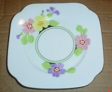 Very Pretty Roslyn Hand Painted Side Plate Flowers Circa 1930's