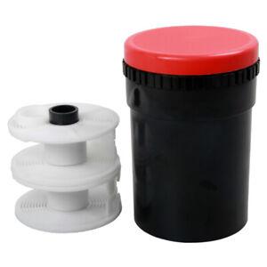 Compact Darkroom Developing Tank 2 Spiral Reel B&W Color 120 135 126 127 Film