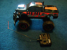 NKOK BRAND 49 MHz DODGE RAM POWER WAGON R/C TRUCK with TRANSMITTER