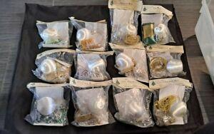 VTG The Cracker Box Christmas Ornament Kit  lot of 12. All new old stock