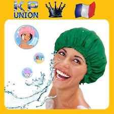 Bonnet douche charlotte bain réutilisable permanente bigoudis coloration cheveux