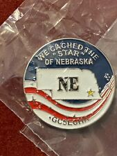 Extagz NE State Star Series Coin - Pathtag Alternative