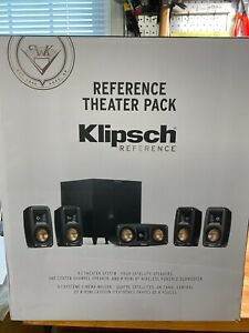 Klipsch Reference Theater Pack 5.1 CH Surround Sound System Speakers Subwoofer🔥