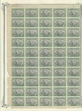 HS Mexico,Revolution,Scott#514-FS,5pesos,Full Sheet,MNH,Scott=$1,200