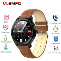 Lemfo L9 Étanche smart watch monitor heart rate blood pressure for Android iOS