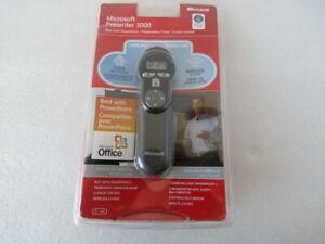 Microsoft Presenter 3000 72D-00001 Gray RF Wireless Presenter 3000
